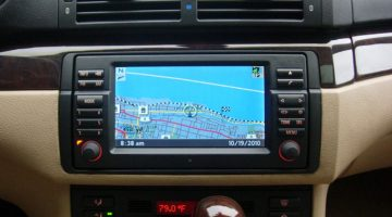 bmw e46 after market radio with usb