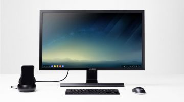 use smartphone as android PC with monitor