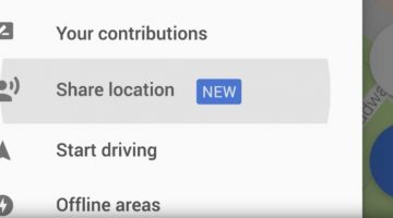 google maps share location with your friends