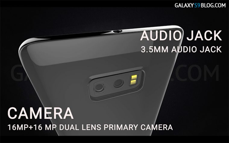 galaxy s9 camera audio jack