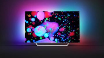 new oled tv philips with ambilight