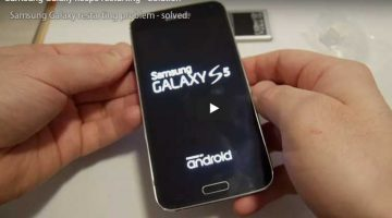 Samsung Galaxy Keeps restarting solution