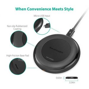raw power best wireless charger for Galaxy S9