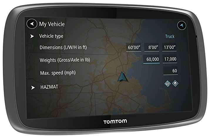 tomtom truck gps free maps
