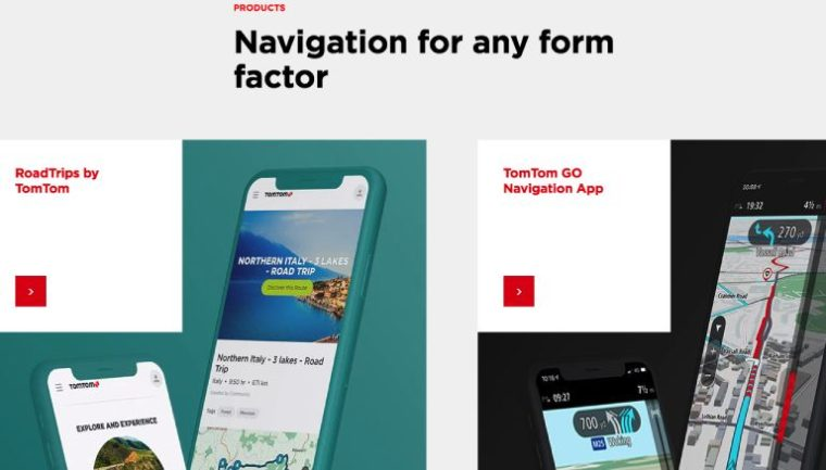 tomtom website
