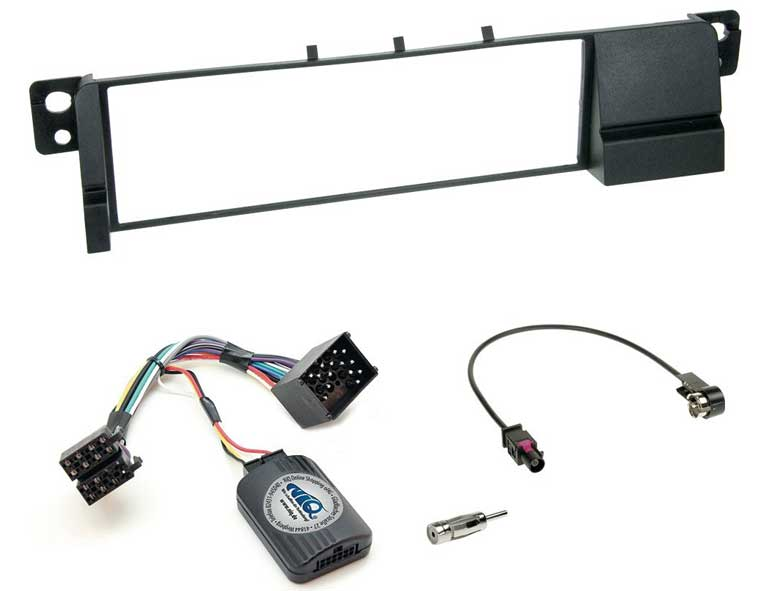 bmw e46 best head unit installation kit
