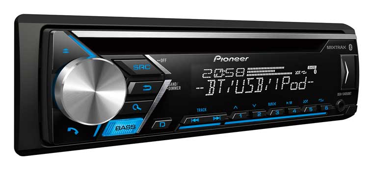 pioneer car player with bluetooth for ANdroid smartphone