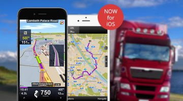 sygic truck for ipad